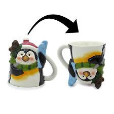 Tazza Natalizia Mug Natale Upside-down Collection Variante Pinguino