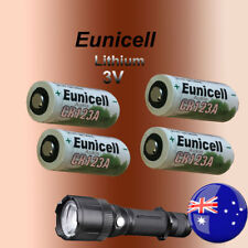 4x Eunicell CR123A Lithium 3V Battery Camera Photo Flashlight Batteries EXP 2021