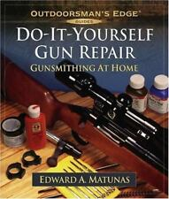 Do-It-Yourself Gun Repair: Gunsmithing at Home (Outdoorsman's Edge)-ExLibrary