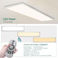 LED Ultraslim Panel Farbwechsel mit Fernbedienung 120*30cm dimmbar Deckenlampe