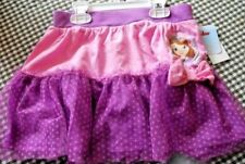 GIRLS SIZE 6 DISNEY SOFIA THE FIRST TOUELLE ACCENTED SKIRT NWT