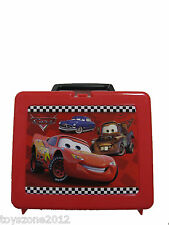 "CARF-9825 Cars Plastic Lunch Box 7.5"" x 9"""