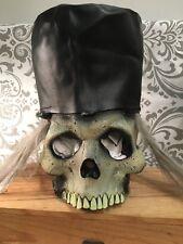 Vintage VTG. Paper Magic Group Skeleton Top Hat Grey Hair 1996 Rocker Rare HTF