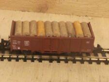 Roco Spur N 25405 Hochbordwagen Om12 Offener Güterwagen beladen mit Holz