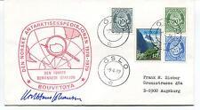 1979 Den Norske Antarktisekspedisjonen Bouvetoya Polar Antarctic Cover SIGNED