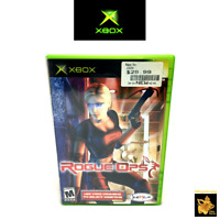Rogue Ops  (2003)  Microsoft Original Xbox Game with Case Manual Tested Works