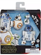 STAR WARS THE RISE OF SKYWALKER GALAXY OF ADVENTURES R2-D2, BB-8, D-O 3-PACK