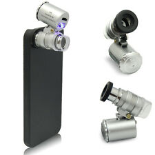 60X Zoom Mini Phone Camera Lens Microscope Magnifier With Case For iPhone 5 5S
