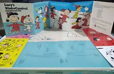 Peanuts Colorforms Retro1972 Lucy's Winter Carnival Bnib Factory Shrink Wrapped