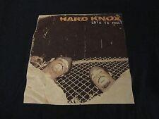 Rare RAP MUSIC Group HARD KNOX Mo Dirty Records Label T Shirt FREE Shipping XL