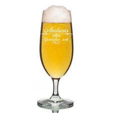 Leonardo VERRE PILS Verre à bière incl. GRAVURE motif flèche avec décoration