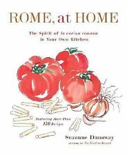 Rome, At Home: The Spirit of La Cucina Romana in Your Own Kitchen-ExLibrary