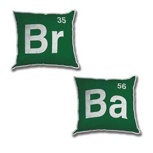 """Breaking Bad 12"""" Logo Plush Pillow Set"""