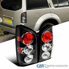 For Nissan 05-12 Pathfinder Replacement Tail Lights Brake Rear Park Lamps Black