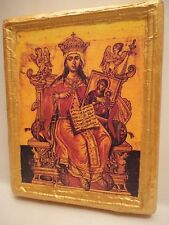 Saint Theodora The Empress Christian Ecclesiastical Russian Orthodox Wooden Icon
