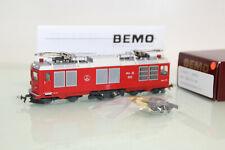 Bemo H0m 1267 102 Zweikraftlok Gem 4/4 802 der RhB neuwertig in OVP (CL7388)