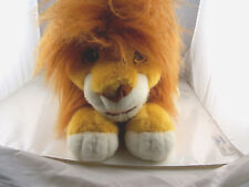 "Lion King Simba Plush Growling  Puppet 12"" Plus 9"" tail  Disney"