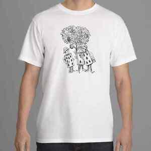 Alice in Wonderland T shirt, Cards Painting Roses T-shirt, Tim Burton Inspired
