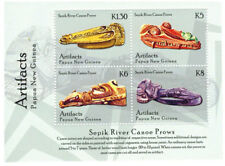 Papua New Guinea 2014 - Artifacts Sheet of 4 stamps Mnh