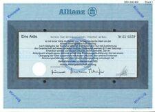 Allianz Aktiengesellschaft Aktie Berlin München DM 5