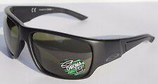 SMITH OPTICS Dragstrip POLARIZED Sunglasses Matte Black/Gray Green NEW $219
