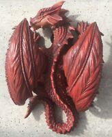 Dragon Mythical Wall hanging Vivid Arts Indoor Outdoor Garden Ornament £18.99