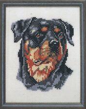 Stickpackung Stickbild Cross stitch Telpakket Pako 13x17 cm Hund Hunde Dog