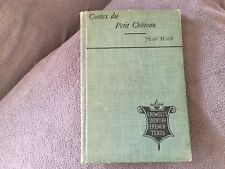 Vintage Contes Du Petit-Chateau by Mace-J (French) Hardcover Book Free Shipping!