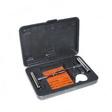 Puncture Emergency Fix Car Van Motorcycle Tubeless Tyre Repair Tool Kit In Box