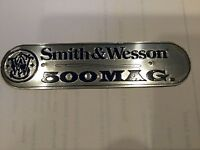 WOW! 6 Gun Tags 500 38 44 Mag 22 32 357 Vintage Metal Bullet Ammo SMITH & WESSON