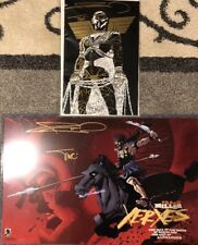 SDCC 2018 Frank Miller Signed Exclusive 300 Xerxes Comic and Print!! 🔥 🔥 🔥