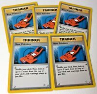 5x New Pokedex 95/111  Neo Genesis Set TRAINER Pokemon Card VG+/Light play