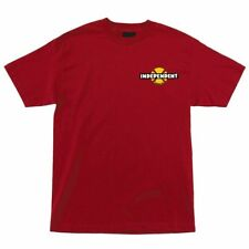 Independent Trucks 78 B/C Chest Skateboard T Shirt Red Large