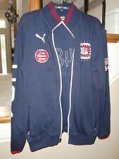 "Youth/Boys""PUMA""Full Zip Logos Pockets Athletic Soccer Jacket SZ L(14-16)~NICE~"