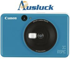"Canon Inspic C Instant Camera 5MP - Seaside Blue 2 years Warranty ""AUSLUCK"""