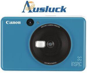 "CANON INSPIC (C) INSTANT CAMERA CV-123A  5MP - BLUE 2Y WARRANTY ""AUSLUCK"""