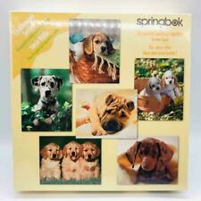 "Vintage Springbok ""Challenger Series"" PUPPIES 6 Jigsaw Puzzles Jumbled In 1 Box!"