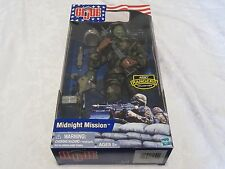 "GI G.i. Joe Midnight Mission Army Rangers African American 12"" Inch Figure"
