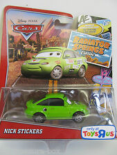 Disney PIXAR Cars - Radiator Springs Classic Car - NICK STICKERS - Ages 3+