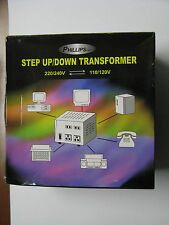 Phillips Step up/Down Transformer TC-300D 300w (VA) New Never Used