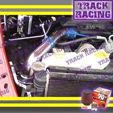 02-10 DODGE RAM 1500 2500 3500 3.7L 4.7L 5.7L V6 V8 COLD AIR INTAKE+K&N Blue Red