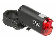 M-Wave LED Rücklicht Helios mit BATTERIEN StVZO Fahrrad Rückleuchte Hinter Licht