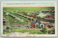 Baton Rouge Louisiana~State Steam Products Incorporated~1920s Postcard