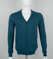 Herren Ted Baker Wolle Pullover Strickjacke Feinstrick Gr. 3 / M SLIM