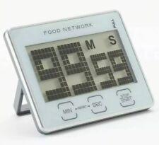 New Food Network Digital Timer-Magnet or Stand-Sensor Bottons-Matrix Display