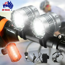 360 ° LED Bicycle Bike Cycling Front Rear Tail Light USB Rechargeable Lamp AU