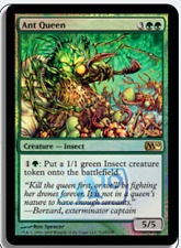 MTG X4: Ant Queen *FOIL*, Launch Promo, R, Moderate Play - FREE US SHIPPING!