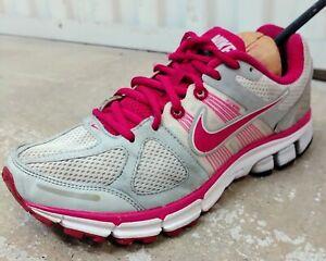 Nike Womens Pegasus 28 Running Shoes White 443802-162 Low Top Sneakers Sz 8.5