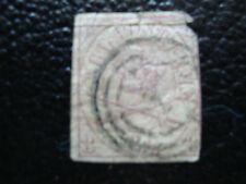 DANEMARK - timbre - yvert et tellier n° 12 obl (2eme choix) (A12) stamp denmark