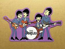 The Beatles Cartoons - Tin Metal Wall Sign